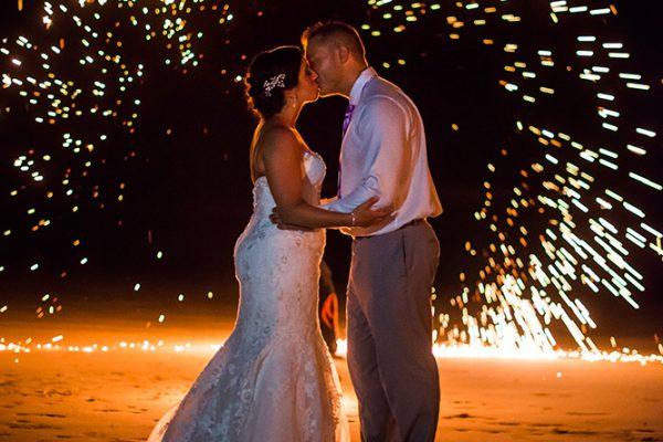 ASHLEY & MIKE COSTA RICA BEACH WEDDING