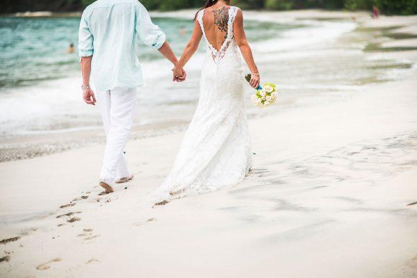 JESSICA & TREY COSTA RICA BEACH WEDDING PHOTOS