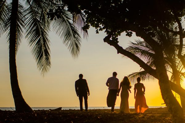 MAGGIE AND BEN'S COSTA RICA BEACH WEDDING