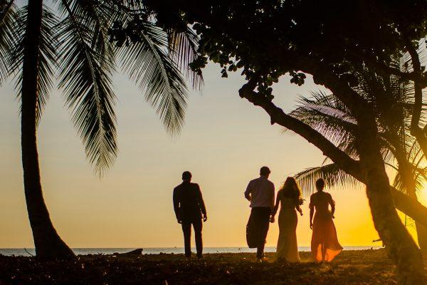 MAGGIE AND BEN'S COSTA RICA BEACH WEDDING