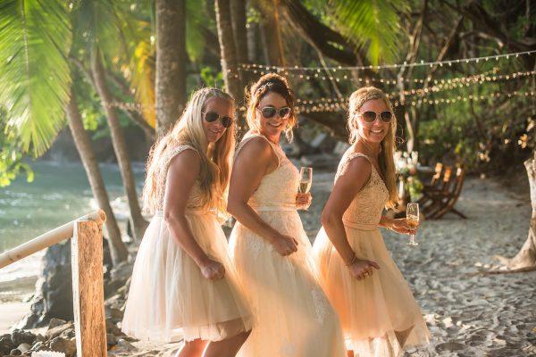 MELISSA AND MEEK'S COSTA RICA BEACH WEDDING