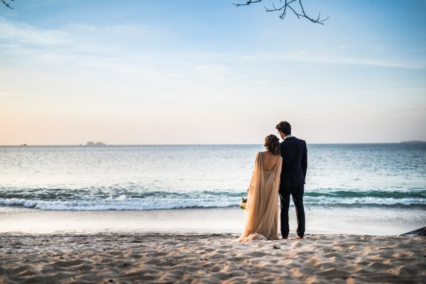 ANDREA & MARC COSTA RICA BEACH WEDDING PHOTOGRAPHY