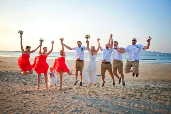 SHANNON & CALVIN COSTA RICA BEACH WEDDING PHOTOGRAPHY