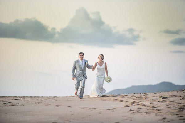Amy & Fernando Costa Rica beach wedding photography in Cala Luna