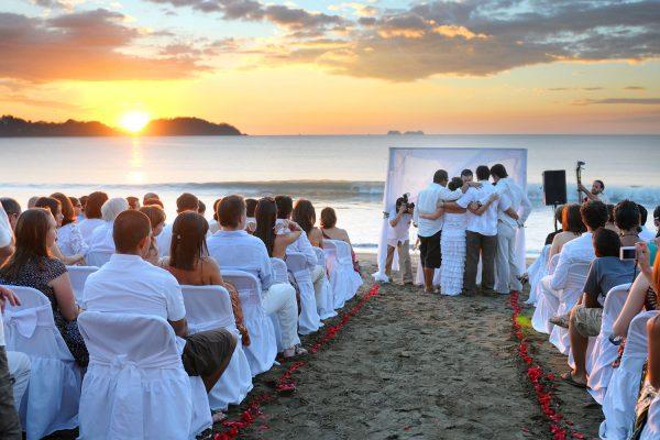 DENISE & ESTEBAN COSTA RICA BEACH WEDDING PHOTOGRAPHY