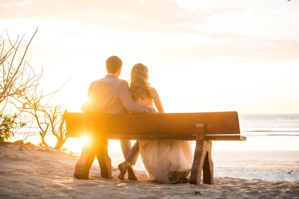 Amy and Josh Costa Rica Beach Wedding