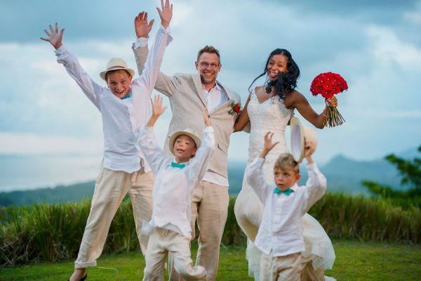 Angelica and Brian Costa Rica wedding