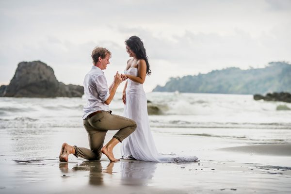 Marie & Rogier Costa Rica Engagement shoot