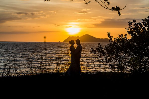 Nicole & Greg Costa Rica beach wedding