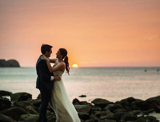 Emily & Ben Costa Rica beach wedding